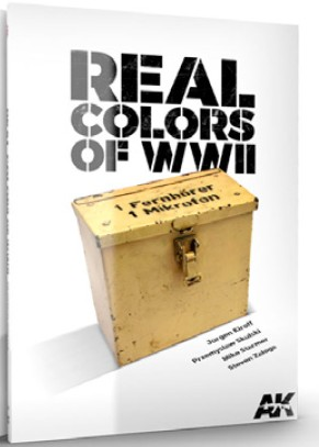 Real Colors of WWII Book #AKI187