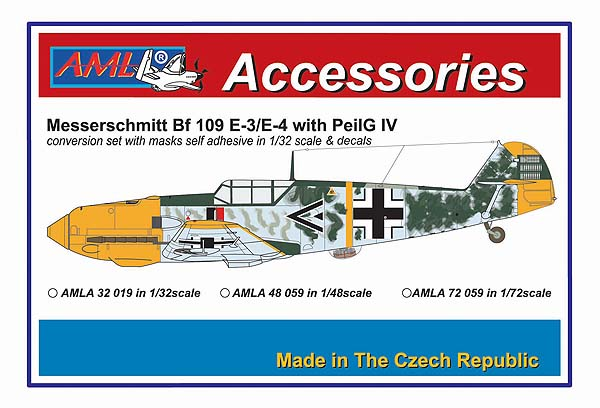 Messerschmitt Bf.109E-4_PeilG IV-Day fighters #AMLA3219