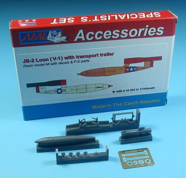 JB-2 Loon (V-1) with transport trailer #AMLA44002