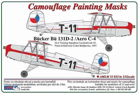 Bucker Bu-131D-2/Aero C-4 #AMLM3322