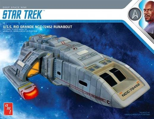Star Trek Deep Space Nine Runabout Rio Grande #AMT1084