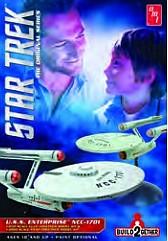 Star Trek USS Enterprise NCC1701 (1 Snap & 1 Glue Kit)- Net Pricing #AMT913