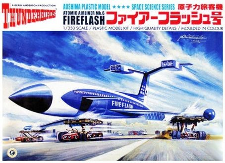 International Rescue Thunderbirds: Fireflash Mk 6 Atomic Airliner (Re-Issue) #AOS5255