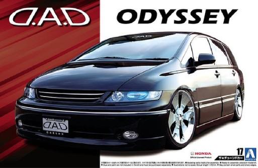 2003 Honda D.A.D. RB1 Odyssey Minivan #AOS53096