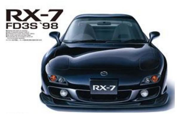 1999 Mazda FD3S RX7 2-Door Car (Pre-Painted Black) (Ltd Edition) #AOS55113