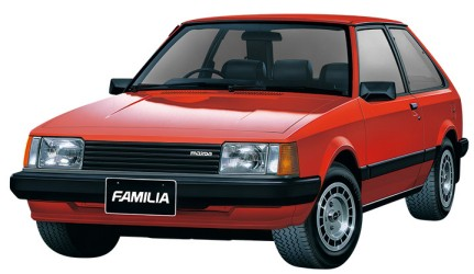 1980 Madza 323 2-Door Car #AOS55892