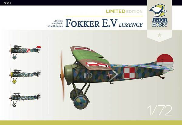 Fokker E.V Lozenge Limited Edition #ARH70014