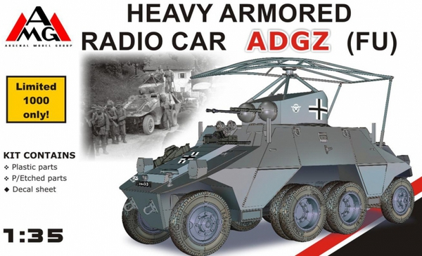 Heavy Armored Radio Car ADGZ (FU) #ARG35504