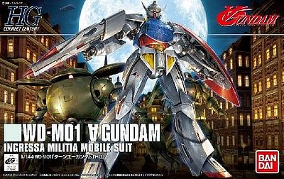 HG Universal Century Series: #177 WDM01 TurnA Gundam Ingressa Militia #BAN189480