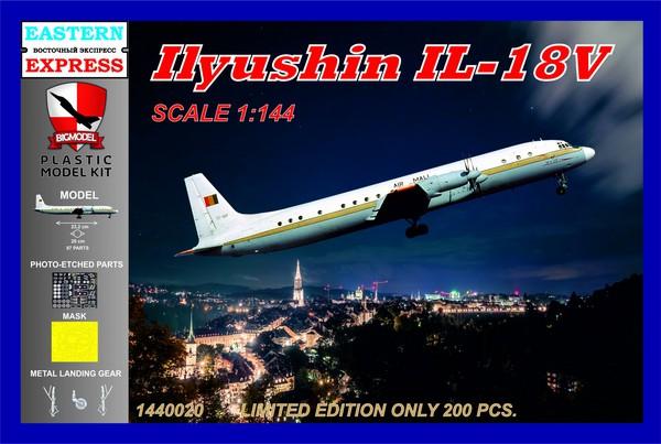 Ilyushin Il-18 AIR MALI 1/144 Profi-Pack #BIG1440020