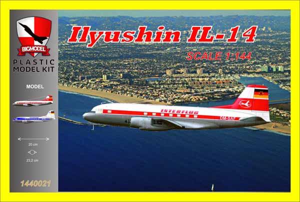 Ilyushin Il-14 Lufthansa #BIG1440021