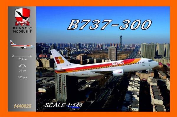 Boeing 737-300 Iberia #BIG1440025