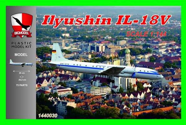 Ilyushin Il-18V Deutsche Lufthansa #BIG1440030