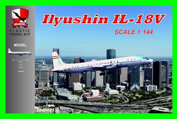 Ilyushin Il-18V Malev #BIG1440031