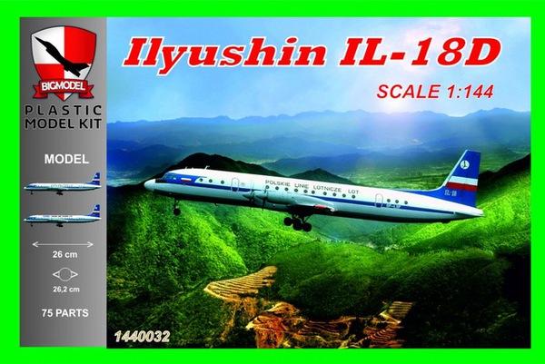 Ilyushin Il-18D Polski Line LOT #BIG1440032
