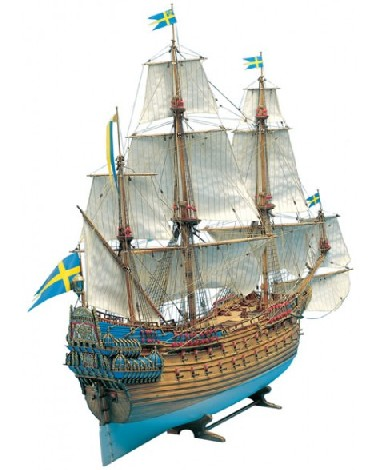 WASA 3-Masted 1627 Royal Sailing Ship (Expert) #BBT490