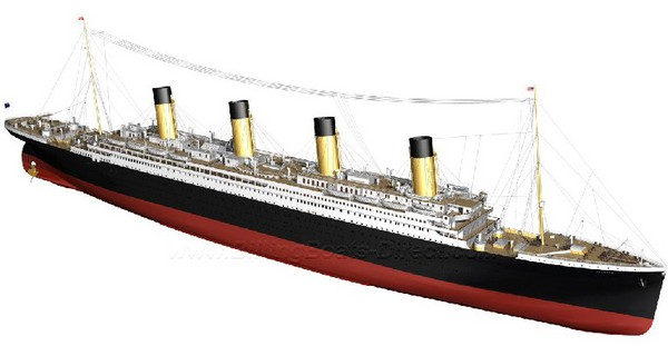 RMS Titanic Ocean Liner (Expert) #BBT510