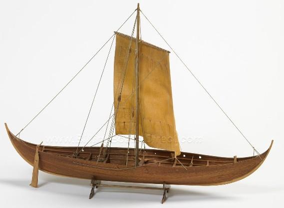 Roar Ege Single-Masted Viking Ship (Intermediate) #BBT703