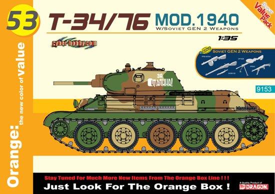 T-34/76 Mod.1940 & Inf- Net Pricing #CHC9153