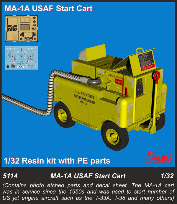 MA-1A USAF Start Cart with etched parts #CMK5114