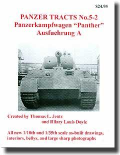 Panzer Tracts No.5-2 Panzerkampfwagen 'Panther' Ausfuehrung A #PZT052