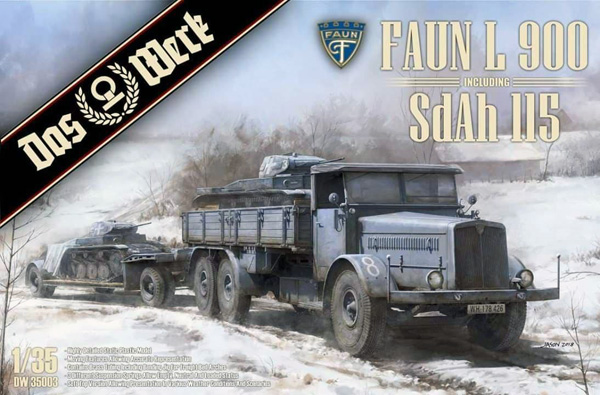 Faun L900 Truck with Sd.Ah. 115 Trailer - Pre-Order Item #DW35003