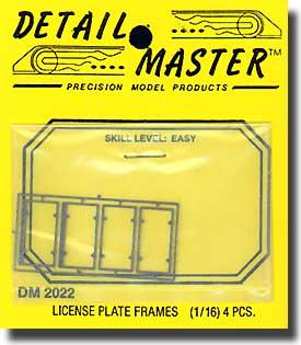License Plates Frame #DM2022