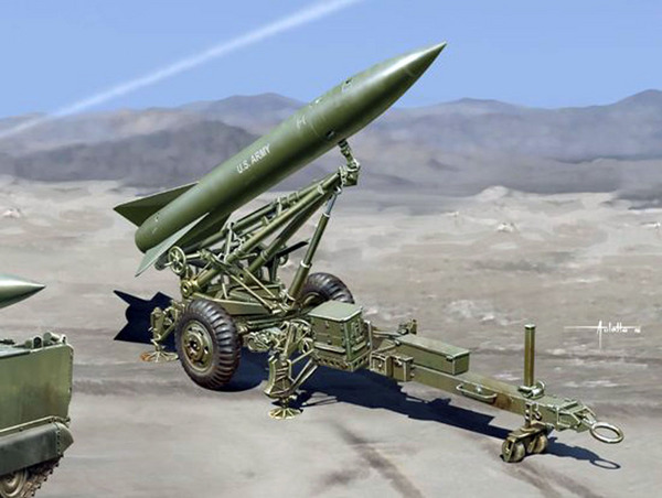MGM52 Lance Missile w/Launcher (New Tool) #DML3600
