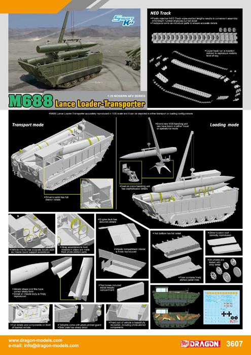 M-688 Lance Loader-Transporter #DML3607
