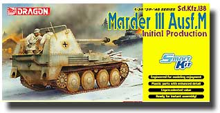 Marder III Ausf.M Initial Production - Smart Kit #DML6464