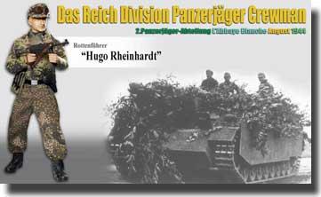 Hugo Rheinhardt (Rottenfuhrer) - Das Reich Division Panzerjager Crewman- Net Pricing #DRF70782