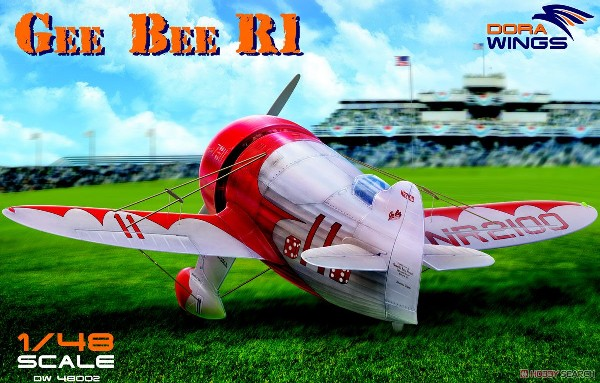 Gee Bee R-1 Super Sportster Aircraft (New Tool) #DWN48002
