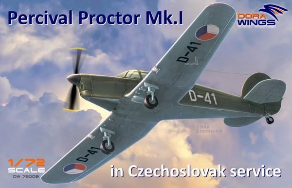 Percival Proctor Mk I Czech Service Communication Aircraft #DWN72003