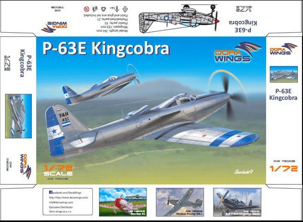 Bell P-63E-1-BE Kingcobra #DWN72005