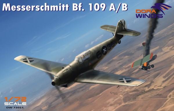 Messerschmitt Bf.109A/B Legion Condor Aircraft #DWN72011
