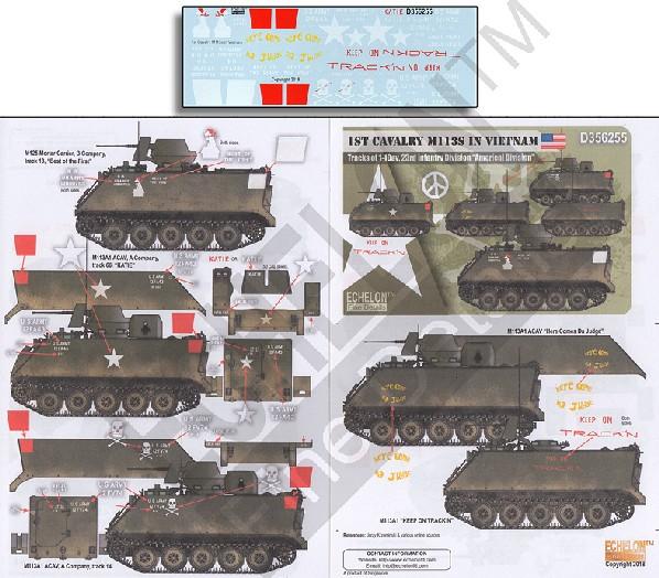 1st Cavalry M113S in Vietnam #ECH356255