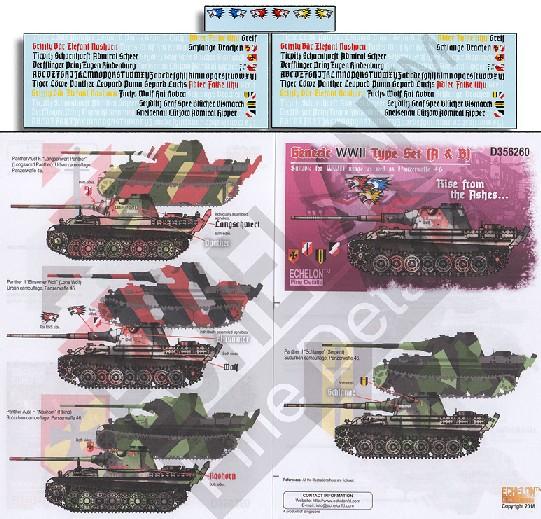 Generic WWII Type Set (R & B) #ECH356260