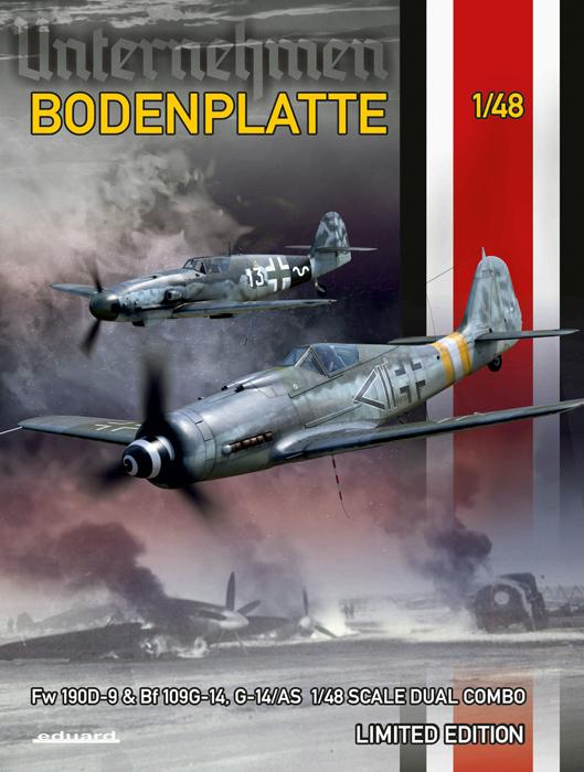 Bodenplatte Aircraft (Ltd Edition Plastic Kit) #EDU11125