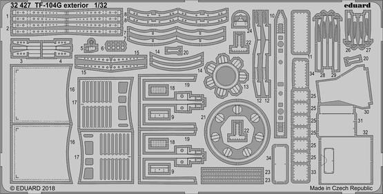 Aircraft- TF-104G Exterior for ITA #EDU32427