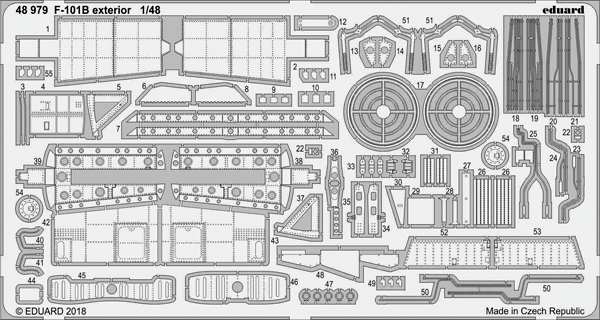 Aircraft- F-101B Exterior for KTY #EDU48979