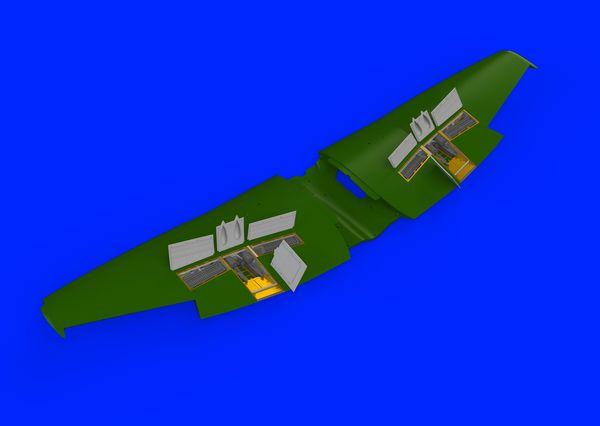 Aircraft- Tempest Mk V Gun Bays for EDU (Photo-Etch & Resin) #EDU648419