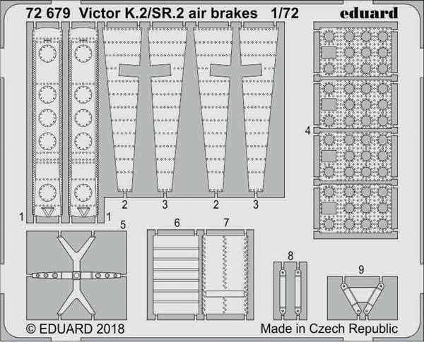 Aircraft- Victor K2/SR2 Airbrakes for ARX #EDU72679