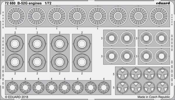 Aircraft- B-52G Engines for MDO #EDU72680