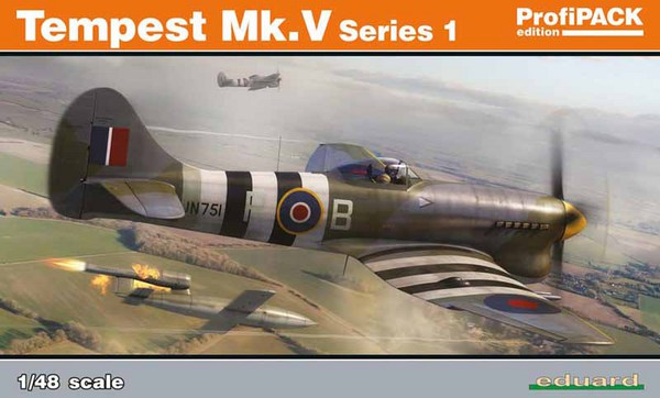 Tempest Mk V Series Aircraft (Profi-Pack Plastic Kit) #EDU82121