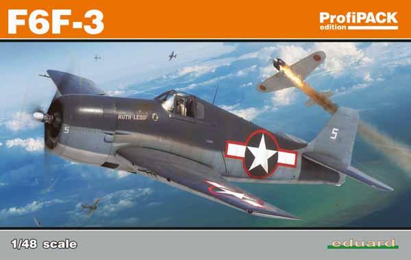 F6F-3 Fighter (Profi-Pack Plastic Kit) #EDU8227