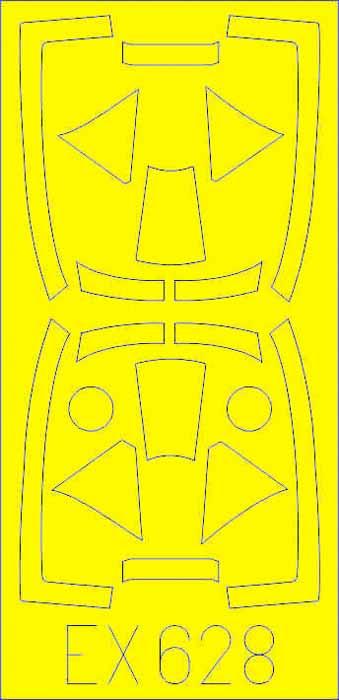 Mask Aircraft- Tempest Mk V TFace for EDU #EDUEX628