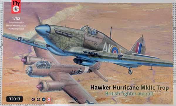 Hawker Hurricane Mk IIc Trop British Fighter #FYM32013
