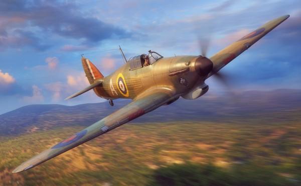 Hawker Hurricane Mk I Trop British Fighter #FYM32017