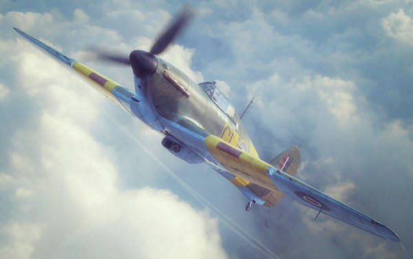 Hawker Hurricane Mk IIb British Fighter #FYM32019