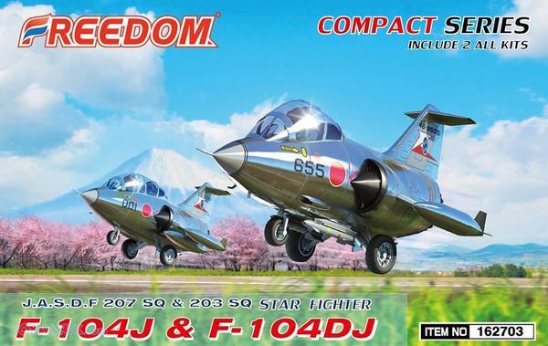 Lockheed F-104J & F-104DJ Starfighter (Compact Series ) Includes 2 kits #FDK162703